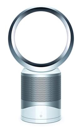 Dyson Pure Cool Link Tisch-Luftreiniger (speziell für Allergiker, HEPA-Filter, App-Steuerung) weiß -