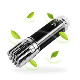Hapurs Auto-Luftreiniger/Ionisierer KFZ-Lufterfrischer und Geruchs-Entferner, entfernt Zigaretten-Rauch-Geruch und schlechte Gerüche, hilft gegen Keime und Bakterien -