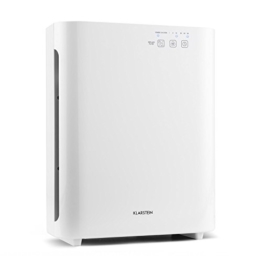 Klarstein 10028709 - Luftreinigungsapparate (Weiß, HEPA/Carbon, Cigarette smoke, Fine dust, Microbes, Pollen, Viruses) -