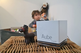opaya PCA aube-c-bl Luftreiniger Bluetooth ohne Filter Schwelle angeschlossen für Haus/Auto -