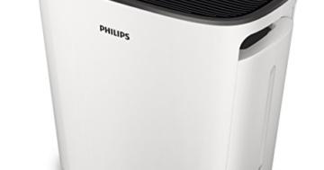 Philips Luftwäscher mit hocheffizienter Befeuchtung und zusätzlichem HEPA-Filter, HU5930/10 (Raumgröße bis zu 70m²) -