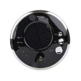 VOSMEP Auto Luftreiniger Air Purifier Lufterfrischer Zuhause Anion Luftbefeuchter Aroma Diffusor Solar Lonizer Entfernen von Staub, Bakterien, Benzol und Andere Schadstoffe in die Luft Schwarz CA5 -