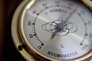 Hygrometer - Rauchfeuchte