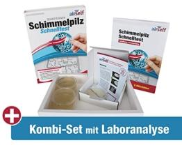 """Schimmel Test Kombipaket""""Passiv"""" – Schnelltest plus Schimmeltest im Labor für bis zu 6 Räume - 1"""