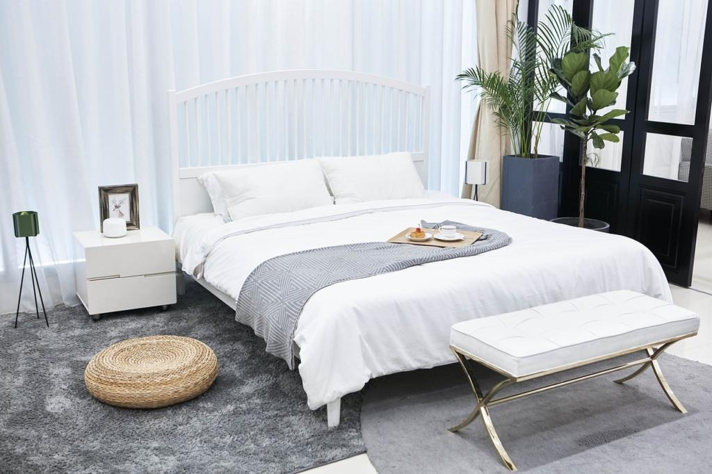 Leiser Luftreiniger im Schlafzimmer