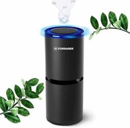 Auto Luftreiniger mit USB Ports, tragbarer Ionisator Luftreiniger Air Purifier Anion, 360-Grad-Reinigung, perfekt für Allergiker und Raucher - 1