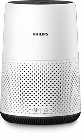 Philips AC0820/10 Luftreiniger Kompakt (für Allergiker, bis zu 49M², Cadr 190M³/H, Aerasense Sensor) weiß - 1