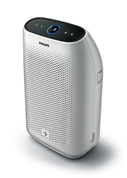 Philips AC1214/10 Luftreiniger Connected - ECARF zertifziert (für Allergiker und Raucher, bis zu 63m², CADR 270m³/h, Allergiemodus, mit App-Steuerung) weiß - 1