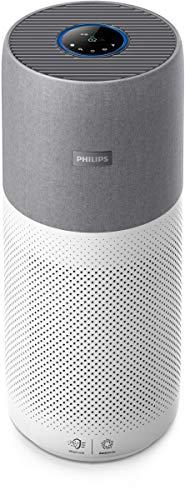 Philips AC4236/10 Luftreiniger Conncted 4000I (für Allergiker und Raucher, bis zu 130M², Cadr 500M³/H, Aerasense-Sensor, mit App-Steuerung) Weiß/Grau - 1