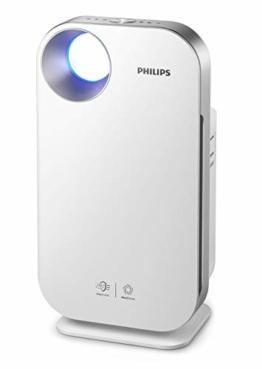 Philips Lufteiniger Connected AC4550/10 (für Allergiker, bis 104m², CADR 400 m³/h, AeraSense Sensor, mit App-Steuerung) weiß - 1