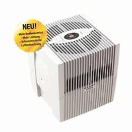 Venta Luftwäscher LW25 Comfort Plus Luftbefeuchter und Luftreiniger für Räume bis 45 qm, brillant weiß, mit digitaler Steuerung - 1