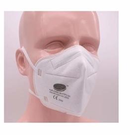 1x Premium FFP3 Maske 5-lagig o. Ventil Atemschutzmaske Mundschutz schneller Versand aus Deutschland - 1