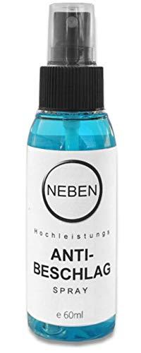 NEBEN Hochleistungs Anti-BESCHLAG Spray für Taucherbrillen Skibrillen und Brillengläser - 1