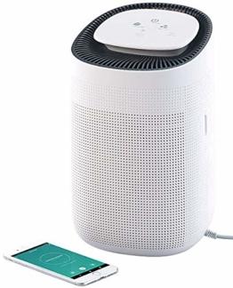 Sichler Haushaltsgeräte Luftentfeuchter mit App: 2in1-Luftreiniger & Entfeuchter, für Amazon Alexa & Google Assistant (Luftentfeuchter App Steuerung) - 1