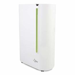 SUNTEC Dryfix 20 Lumio Luftentfeuchter – für Räume bis 150 M³ (ca 65 m2) | Raumentfeuchter mit 20 l/Tag Entfeuchtung | Entfeuchter elektrisch inkl. Luftreiniger Funktion + mobile Wäschetrocknung - 1